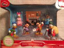 Disney Mickey's Christmas Carol Holiday Figurine Collector Set Mickey Mouse NEW