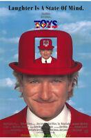 TOYS MOVIE POSTER Original SS 27x40 ROBIN WILLIAMS JAMIE FOXX 1992 Comedy