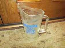 Vintage Olympia Beer Glass Pitcher