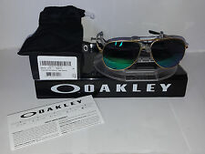Oakley ELMONT SUNGLASSES M SATIN GOLD / JADE IRIDIUM OO4119-0358