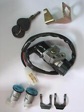 Scooter Key Ignition Switch Set 5 Wire Honda CH125 150 DIO 50 Elite Polaris ATV