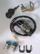 Scooter Key Ignition Switch Set 5 Wire Honda CH125 150 DIO 50 Elite Polaris ATV