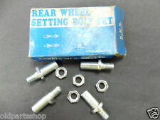 Honda CB175 Rear Wheel Setting Bolt Set NOS BOLTS WASHERS KAWATA JAPAN