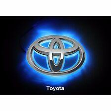 LED Car Logo Blue light for Toyota 08Camrys Corolla Head Emblem Auto Badge Light