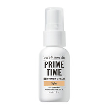 bare minerals prime time BB primer cream SPF30. light