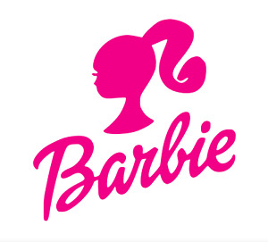 Barbie Vinyl Decal Sticker - 90mm - Choice of 24 Colours