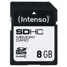Intenso SD Card 8GB Class 10 bis zu 20 MB/Sekunde Lesegeschwindigkeit