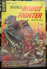 Magnus Robot Fighter 4000 A.D. #25 FEBRUARY VF/NM Gold Key
