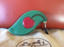 Authentic Hermes Fruit Coin Purse / Cherry