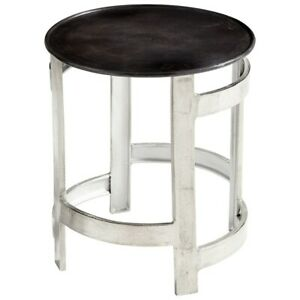 Cyan Design Ascension Side Table, Silver/Bronze - 8303