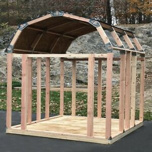 Barn Style Instant Framing Kit Shed Storage Yard Equipment Building Brackets