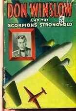 DON WINSLOW & Scorpion's Stronghold by Frank V Martinek (1946) Whitman HC