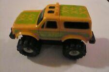 Stompers Schaper 1986 McDonalds Happy Meal Toy Yellow Chevrolet Blazer