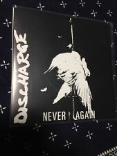 "DISCHARGE NEVER AGAIN 7"" UK D-BEAT HARDCORE CRUST PUNK GBH EXPLOITED"