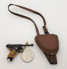 3R WWII Imperial Japanese Army Sachio Eto Pistol n Holster 1/6 toy DID Bbi story