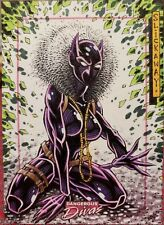 Rittenhouse Dangerous Divas Marvel Sketch Card Black Panther Slickaway Schlekewy