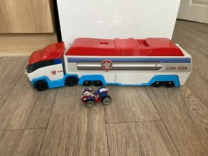 Paw Patrol Paw Patroller With Ryders Quad Vehicle
