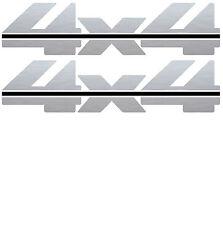 1988 - 1997 4x4 Decals for Chevy Silverado GMC Sierra 1500 2500-Vinylmark SLVBL