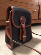 Vintage Dooney & Bourke AWL Equestrian Satchel Crossbody Purse Bag