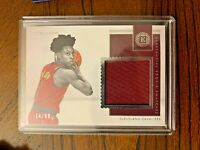 2018-19 Panini Encased Collin Sexton Substantial Rookie Swatches /99 Cavaliers