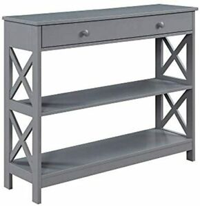 Convenience Concepts Oxford 1 Drawer Console Table New