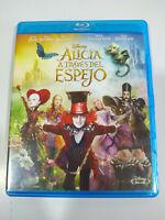 Alicia a Traves del Espejo Johnny Depp Disney - Blu-Ray Español Ingles