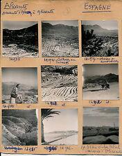 ALICANTE - 13 Photos Vues des Environs - Pl. Espagne 3