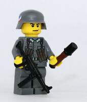 World War 2 MP40 WW2 Minifigure made with real LEGO(R) part