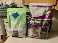 Lot 2 Senior Dog Dry Food: Blue Buffalo True Solutions Perfect Coat Performatrin