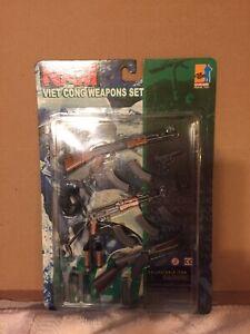 "NEW Dragon Models ltd Vietnam 1/6 12"" Viet Cong Weapons accessories set"