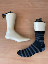 8 Stance hanging wall Sock foot Form Mannequin Plastic 9 inch Leg displays