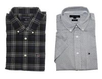 Tommy Hilfiger Men's Classic Fit Short Sleeve Button Down Woven Casual Shirt