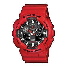 Casio Herren Uhr G-shock Ga-100b-4aer rot