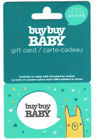 gift card BUY BUY BABY BUYBUY  👶 collectible store Canada USA