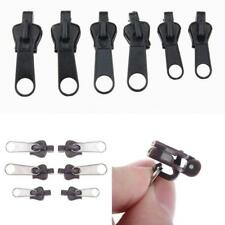 Fix Zipper Zip Slider Repair Instant Kit Removable Rescue Replacement Pack of 6