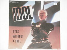 "BILLY IDOL -Eyes Without A Face- 7"" 45"