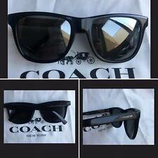 Coach MEN'S sunglasses  Black  Square HC8234 (L1035) NEW🕶