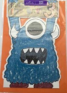 Hallmark 3rd Birthday Card 'Monsters one eye Age 3 Bumper Activity Card