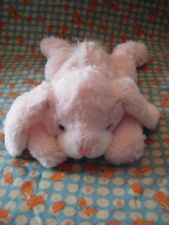 """TOP SHOP LYING DOWN  PINK BUNNY MICRO  HOTTIE  SOFT CUDDLY TOY 10"""" APPROX"""