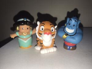Fisher Price Little People Disney Princess Jasmine & Friends Jasmine Genie Rajah