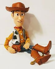 "Toy Story Woody Pull-String Talking 15"" Doll Thinkway Disney Pixar Works Great!"