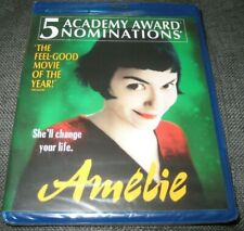 Amelie Blu-ray Disc Audrey Tautou Oop Alliance Authentic New Miramax Sealed 2001