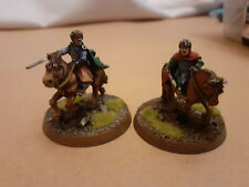 WARHAMMER - LOTR - GW - Scouring of the Shire - 2 mounted hobbits