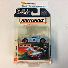Ford GT40 Gulf Tampo * 2018 Matchbox Globe Travelers w/ Real Riders