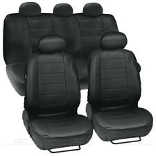 ProSyn Black Leather Auto Seat Covers for Honda Accord Sedan, Coupe Full Set