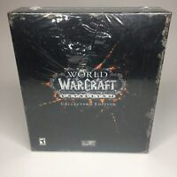 WoW World of Warcraft: Cataclysm -- Collector's Edition - NEW SEALED