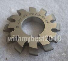 Lot 1pcs Dp11 14-1/2 degree 2# Involute Gear Cutters No.2 Dp11 Gear Cutter