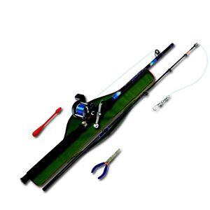 NORWAY TEAM BOAT COMBO Rute 210 cm WG 250 Gramm Rolle Norwegen Schnur 0.45 mm