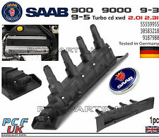 SAAB 9-3 9-5 900 9000 BLACK IGNITION COIL CASSETTE PACK MODULE 55559955 9187980