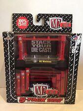 M2 MACHINES AUTO-LIFT 5-PACK STORAGE SYSTEM RED 4 POST DIE-CAST CASTLINE #33500